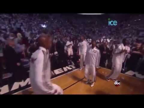 The finals 2013 NBA miami heat intro