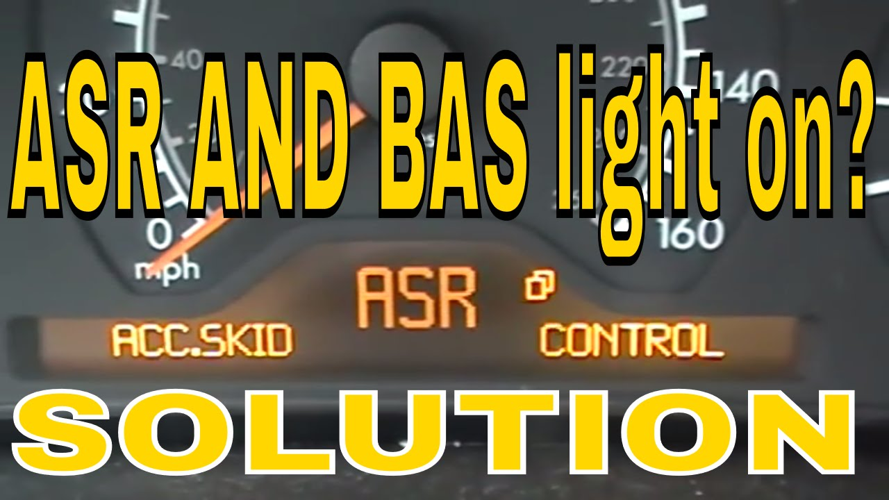 Mercedes E Class Bas Asr Light On Youtube 2001 Benz C280 Front Engine Fuse Box Diagram