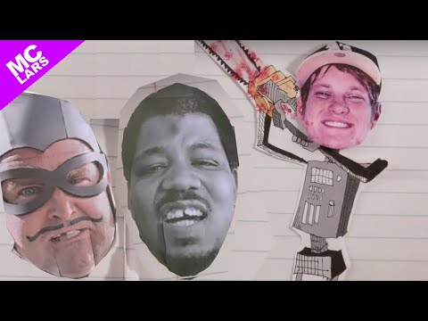 MC Lars - This Gigantic Robot Kills (Official Video) (feat. Suburban Legends & the MC Bat Commander)