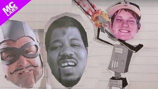 MC Lars - THIS GIGANTIC ROBOT KILLS feat. the MC Bat Commander [Official Music Video]