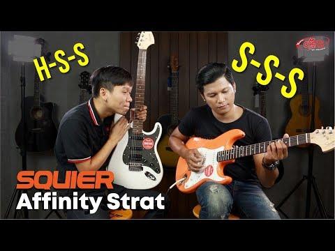 Squier Afinity Start HSS/SSS