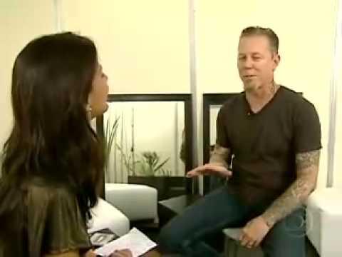 Metallica no Fantastico - Entrevista Rede Globo Brazil - 2010