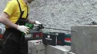 Тест перфораторов Makita HR2450, Bosch GBH 2 26 и Hitachi DH24PC3