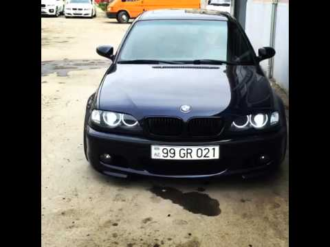 bmw e46 angel eyes youtube. Black Bedroom Furniture Sets. Home Design Ideas