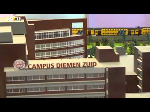 Campus Diemen Zuid op RTL nieuws