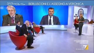 Sgarbi vs Vauro: 'Sei una testa di c***o, Berlusconi non è mafioso'