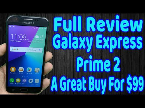 Galaxy Express Prime 2 Full Review A  Good Phone That's Almost Great