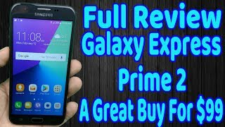Galaxy Express Prime 2 Full Review A  Good Phone That