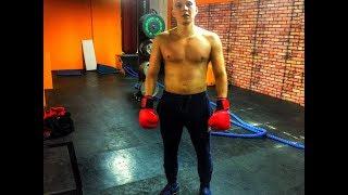 Первые уроки бокса, все только начинается!