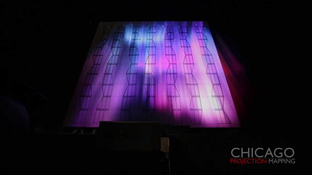 Chicago Projection Mapping Full 3d Projection Mapping