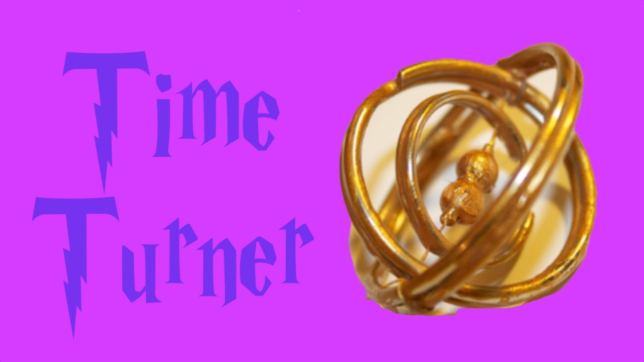 Harry Potter Craft Ideas For Kids Part - 16: Harry Potter Crafts: Time Turner - YouTube