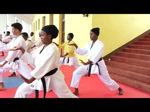 Rwanda - Karate National Team Camp 2018.
