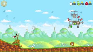 Angry Birds Egg defender level 14 : Red