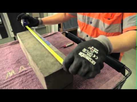 Flexural Tensile Strength Test - Hardened Concrete