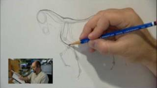James Baxter How To Draw Spirit Part 1