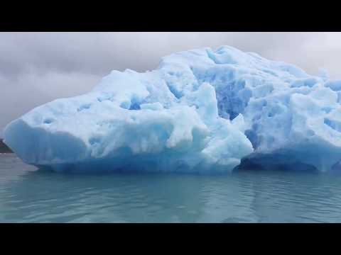 Sailing around an iceberg in southern Greenland