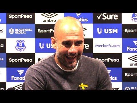 Everton 1-3 Manchester City - Pep Guardiola Full Post Match Press Conference - Premier League