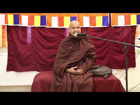 Dhamma Deshana (Bristol UK) - Most Ven Bambalapitiye Gnanaloka Thero