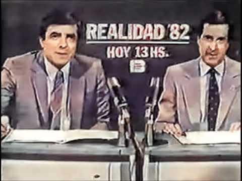 REALIDAD '82 - Canal 13 - 1982