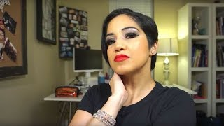 Salsa Dance Performance and Competition Makeup Tutorial