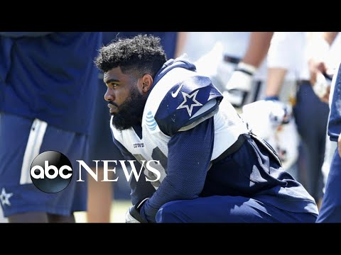 NFL suspends Cowboy Ezekiel Elliott for 6 games