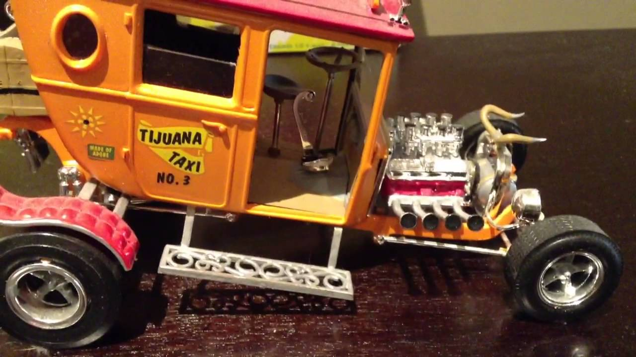 tijuana taxi model car kit