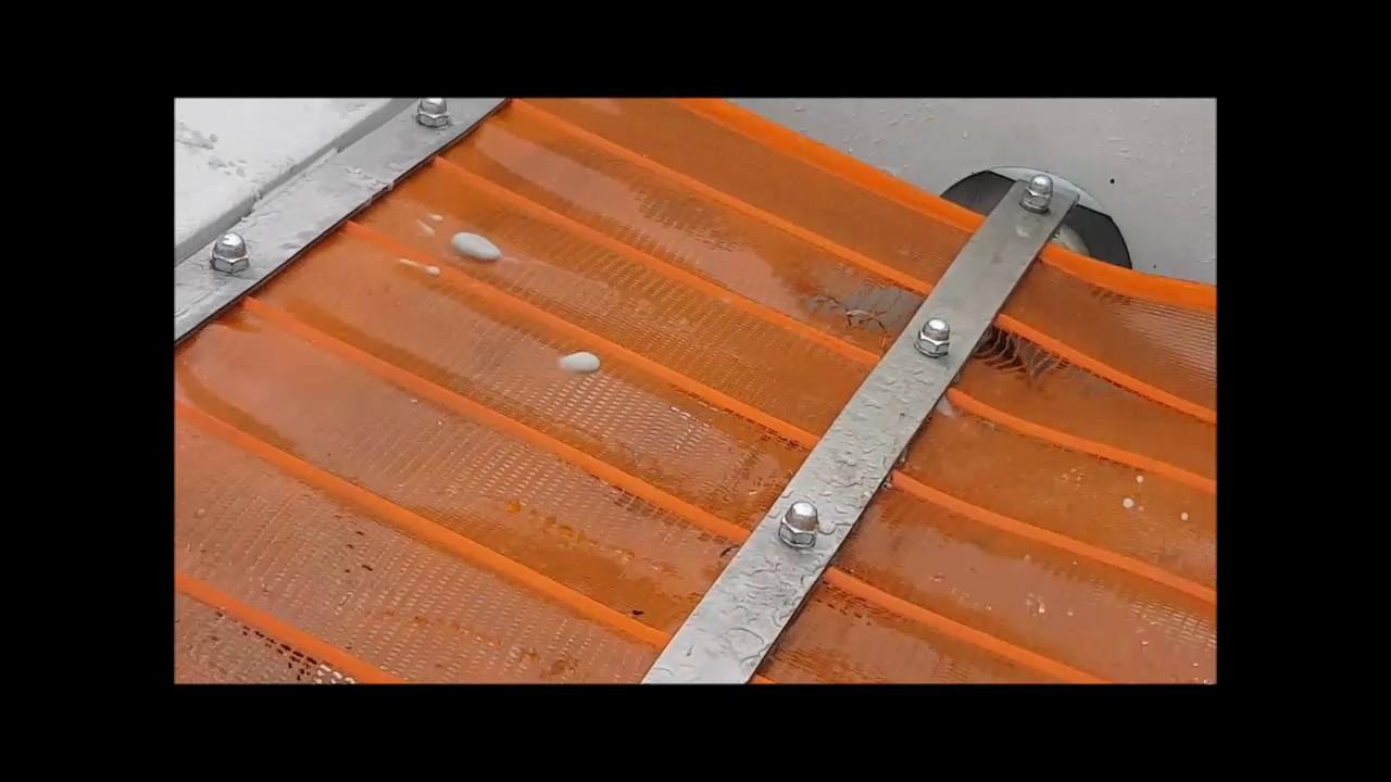 W Mega Przesiewacz GOSTER flipflow przesiewanie na mokro 0,2mm_PRÓBY VF98