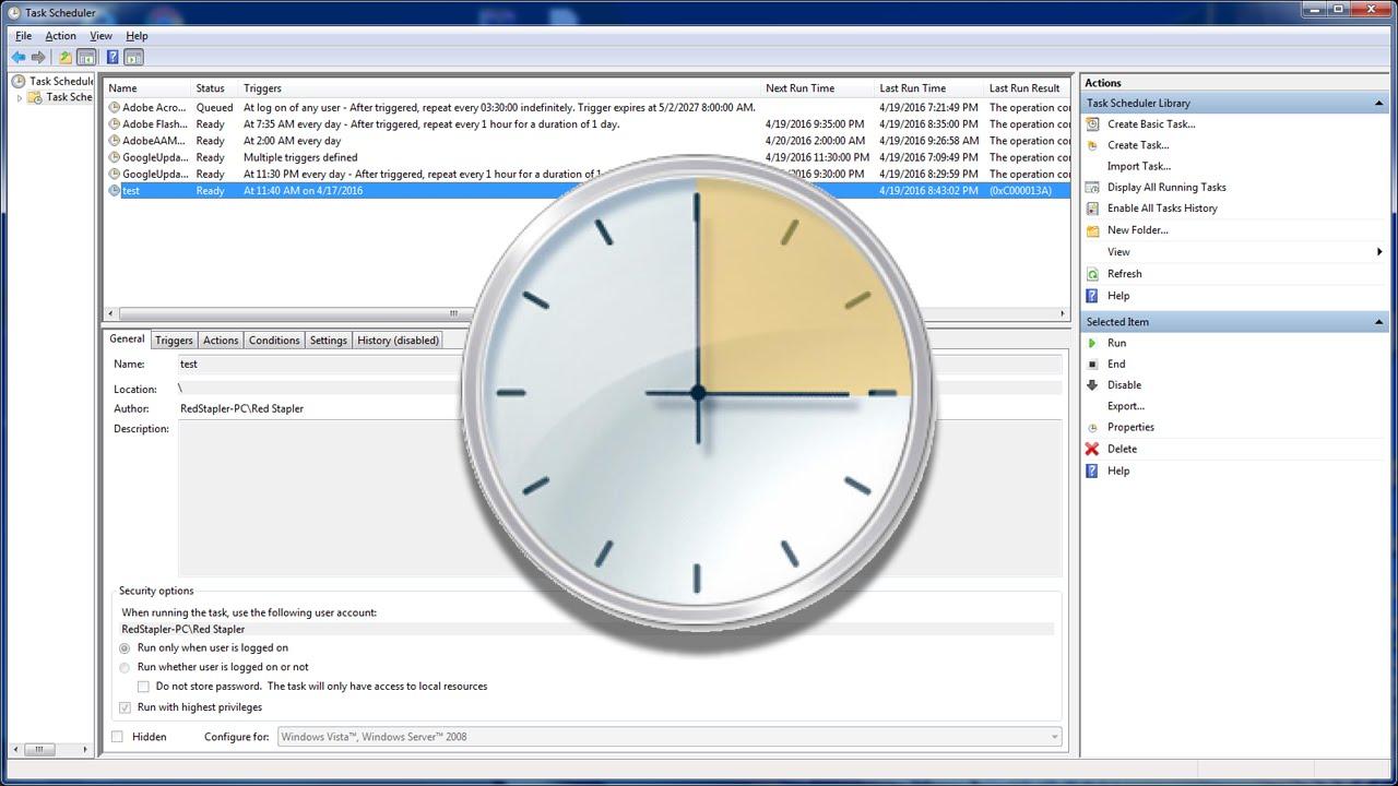 How to fix task scheduler 0x41301 error