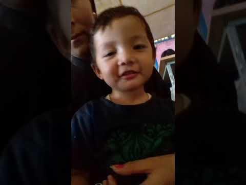 Amazing son...singing his Favorite Rhymes