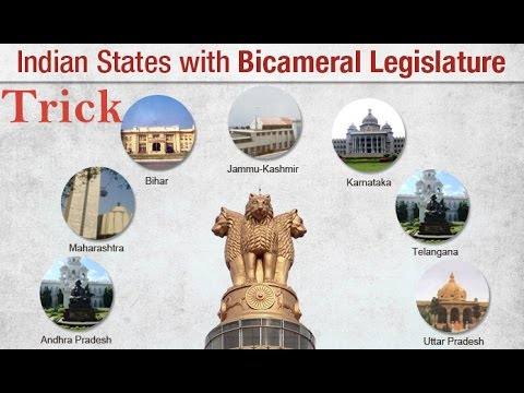 Trick To Remember Polity : States with Bicameral Legislature