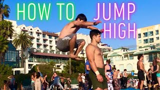 HOW TO JUMP/FLIP HIGHER!