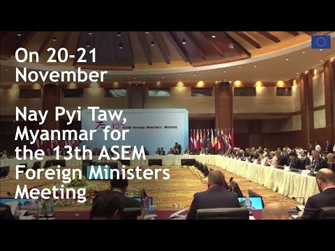 13th ASEM Foreign Ministers' Meeting (ASEM FMM13)