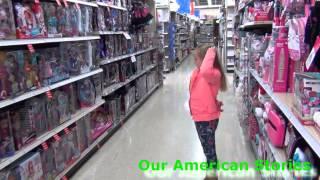 VLOG США Мама на работе, папа с дочкой - гуляют