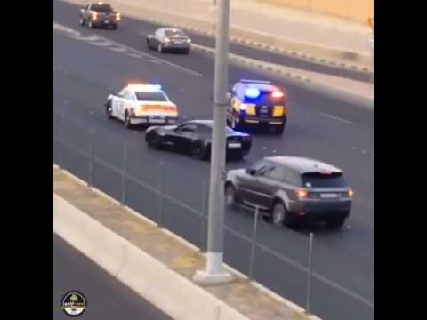 Police Chase in Kuwait