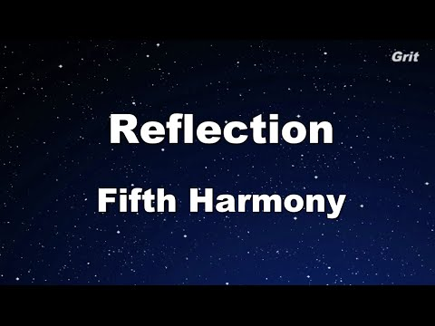 Reflection - Fifth Harmony Karaoke 【No Guide Melody】Instrumental