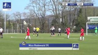 A-Junioren - VfR Aalen vs. Offenburger FV 4-0 - Nico Rodewald