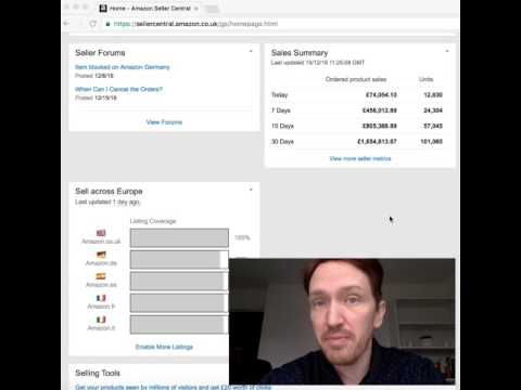 Matt reveals his Q4 Amazon FBA Online Arbitrage sales figures for the 1st time