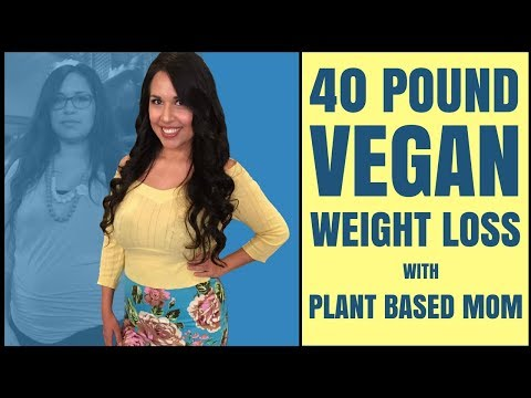 40 LB VEGAN WEIGHT LOSS ON A WHOLE FOOD PLANT-BASED DIET / BEFORE AND AFTER