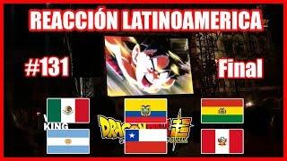Dragon Ball Super 131 Reacción grupal en latinoamerica