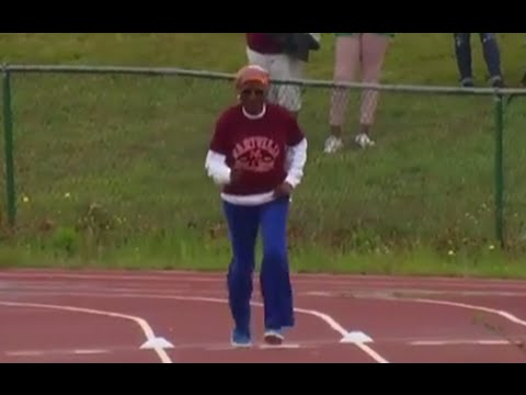 100-Year-Old Makes World Record in 100-Meter Dash