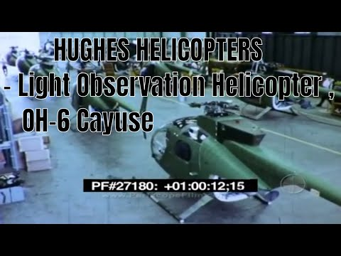 HUGHES HELICOPTERS - Light Observation Helicopter , OH-6 Cayuse 27180