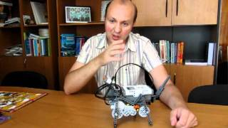робот-собака на базе конструктора LEGO Mindstorms NXT 2.0.