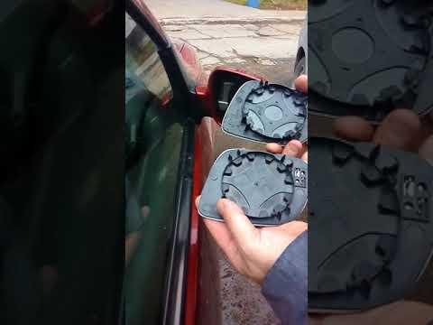 замена зеркального элемента VW Golf4