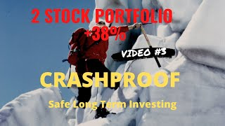 Update 2 stock portfolio up 38% since Feb 27. Safe investment strategy profitable up and down market