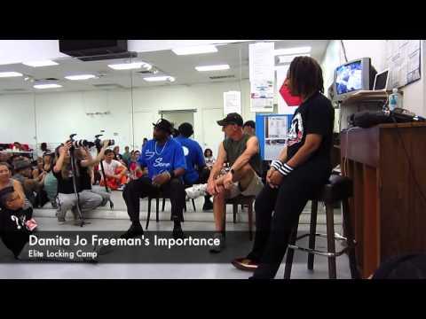 Damita Jo Freeman's Importance