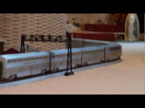 Walthers All-Pullman Super Chief  and all coach El Capitan in HO scale