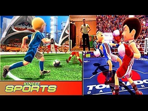 Обзор Kinect Sports | Football+ Boxing
