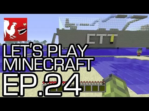 Let's Play Minecraft - Episode 24 - Capture the Tower!