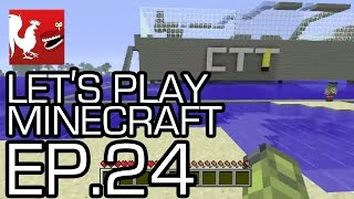 Let's Play Minecraft - Episode 24 - Capture the Tower! | Rooster Teeth thumbnail