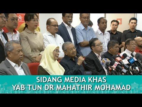 TERKINI : Sidang Media Khas Perdana Menteri : YAB TUN DR MAHATHIR MOHAMAD | Khamis 17 Mei 2018